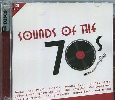 SOUNDS OF THE 70S - VARIOUS ARTISTS on 2 CD's