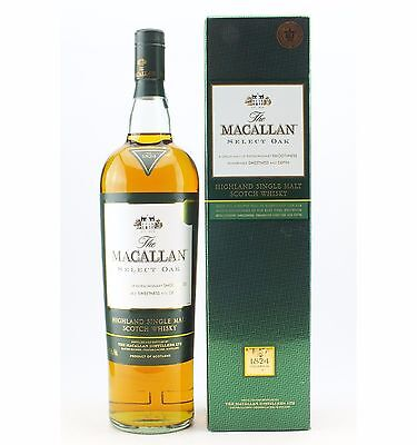 The Macallan Select Oak 1 Litre 1824 Collection Single Malt Scotch Whisky
