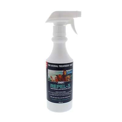Troy Repel-X Insecticidal & Repellent Spray Horse Equine 500ml