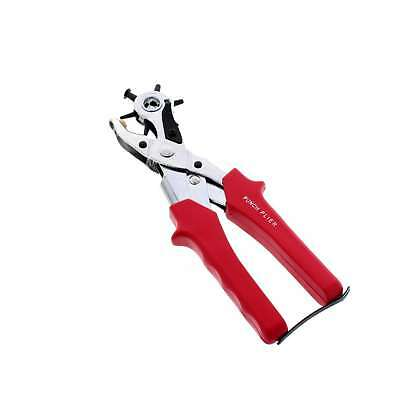 Saddlery Punch Zilco Horse Equine Plier Action Perfect For Hard Materials