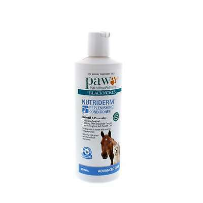 Nutri Derm Replenishing Conditioner Oatmeal and Ceramides Paw Horse Equine 500ml