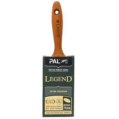 Paint Brush 75mm Oval Legend Sequence DuPont Tynex Filament Blend Smooth Tip