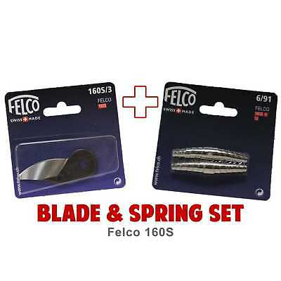 Blade and Spring Set for FELCO 160S (160S/3 Blade & 6/91 Springs)