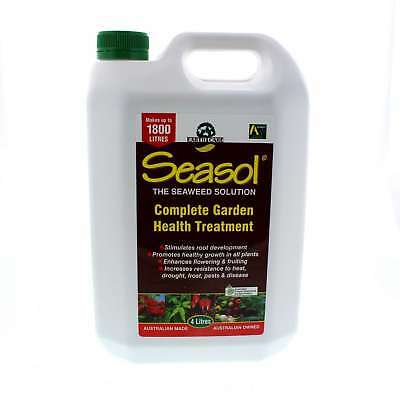 Seasol Concentrate Makes up to 1,800L Complete Garden Health Treatment 4L