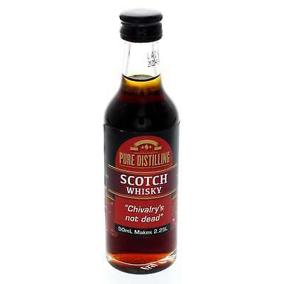 SCOTCH WHISKY Essence 50ml Pure Distilling Home Brew Flavour Your Spirits Easy