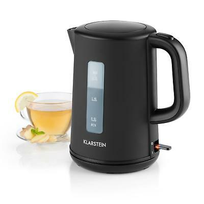 Black Quick Boil Wireless Kettle 2200 W Electric Water 1.5 L Auto Shut Off