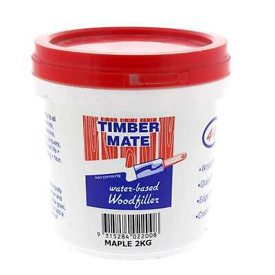 Wood Filler Water Based Non Shrinking Timbermate Maple 2kg