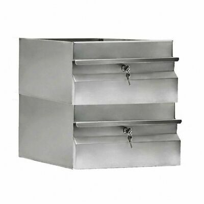 Simply Stainless Single Drawer for Workbenches 410x450x450mm Kitchen