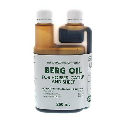 Berg Oil 250ml Horse Equine Health Supplement Control Gastrointestinal Problems