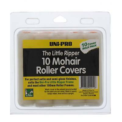Paint Roller Covers Little Ripper Mohair 100mm 10 Pack Unipro Oil Water Enamel