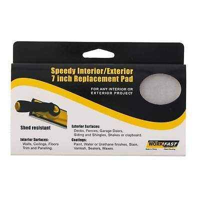 Speedy Interior Exterior 7 Inch Replacement Pad Paint Water Stain Varnish