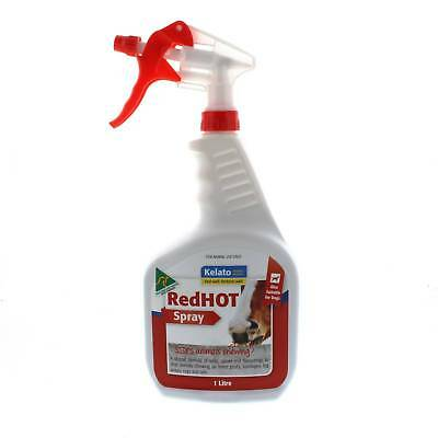 RedHOT Spray To Stop Chewing 946ml Horse Equine Also For Dogs Kelato