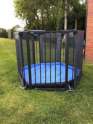 Lindam Safe and Secure Fabric Playpen Excellent Condition