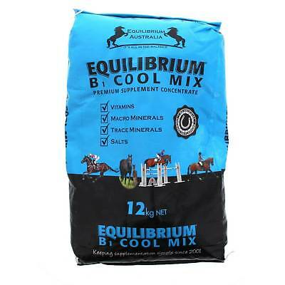 Equilibrium B1-Cool Mix Premium Supplement Concentrate Horse Equine 12kg