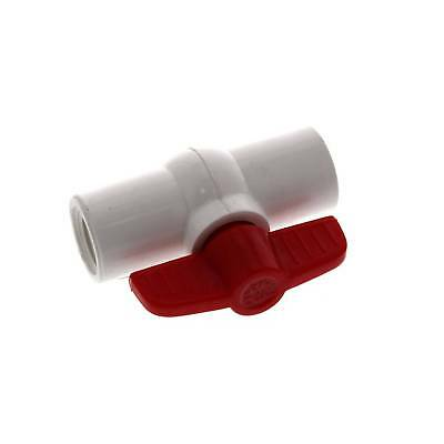 Ball Valve PVC 1/2 15mm Female Female Threaded BSP Tap Valve Irrigation Garden