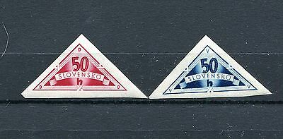 Slovakia Ww2 German Puppet State 1940 Scott Ex1-2 Perfect Mnh