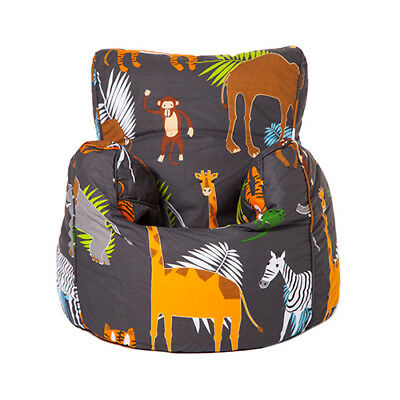 Africa Children's Toddler Bean Bag Armchair Seat Beanbag Chair Bedroom TV Play