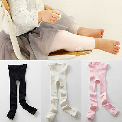 Baby Pure Color Footless Tights Baby Boys and Girl