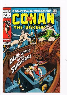 Conan # 6  Devil-Wings over Shadizar grade 8.5 scarce book !!