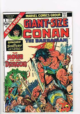 Giant-Size Conan # 1  The Hour of the Dragon grade 8.0 book !!