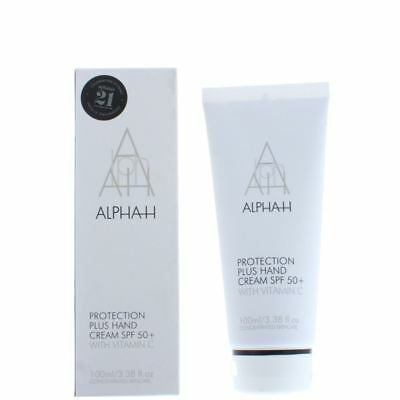 Alpha-H Protection Plus Hand Cream SPF 50+ 100ml With Vitamin C