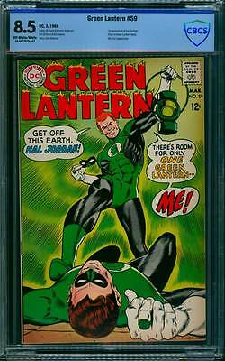 Green Lantern # 59  1st appearance of Guy Gardner !  CBCS 8.5 scarce book !