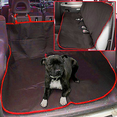WATERPROOF CAR REAR BACK SEAT COVER PET / DOG PROTECTOR BOOT MAT LINER Brand new
