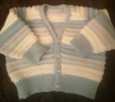 Hand knitted baby cllothes, jacket