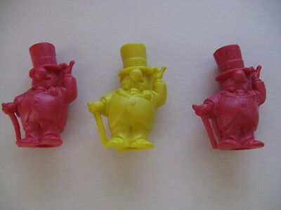 3 Vintage 1971 W C Frito  Frito Lay Pencil Toppers