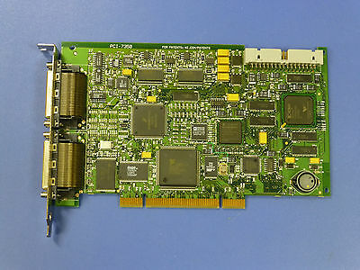 National Instruments PCI-7350 Motion Controller Card, 8-Axis, Stepper & Servo