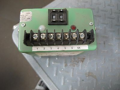 Ohio Semitronics Crd-020 Programmable Setpoint Relay Very Nice Take Out