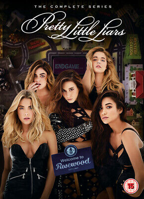 Pretty Little Liars: The Complete Series DVD (2017) Troian Bellisario ***NEW***