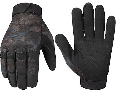 Tactical Full Finger Gloves Outdoor Sporting Airsoft Army Military Shooting Gear