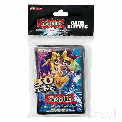 New Yu-Gi-Oh! 50 Pack Dark Side of Dimensions Card Sleeves Protectors Official