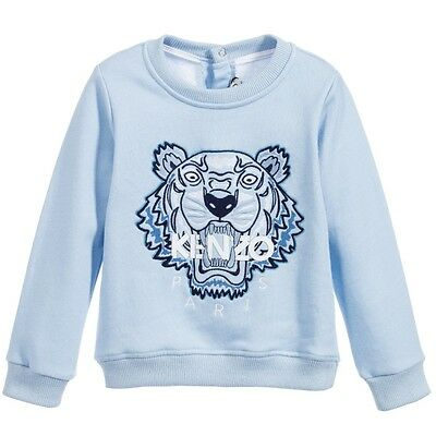 Kenzo Baby Boys Blue Tiger Sweater 18 Months