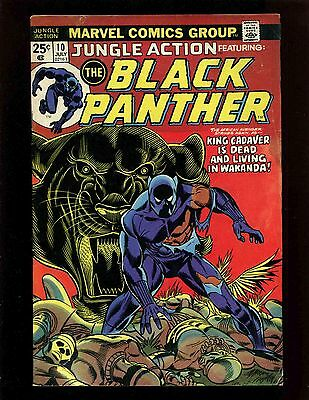 Jungle Action #10 FN- Kane Graham Black Panther 1st King Cadaver Baron Macabre