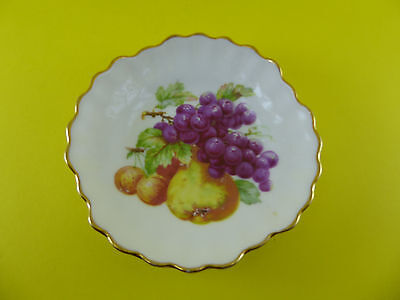 Vintage Winterling Rostam Bavaria made in Germany Mini Fruit Plate Scallop