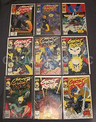 Marvel Comics 1990/91 Ghost Rider Series 2 18 Issues #1-18 Mackie Texeira 8.0 VF