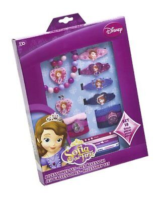 Disney Sofia 115036 - Set Accessori, 18 Pezzi