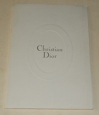 Dossier de Presse Christian DIOR Boutique Collection PRINTEMPS - ETE 1995
