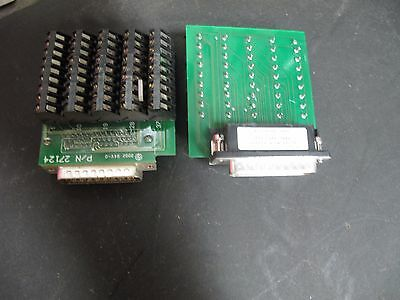 2 - Allen Bradley 2090-U3Bb-Dm44 Ser A Control Interface Breakout Boards Very Ni