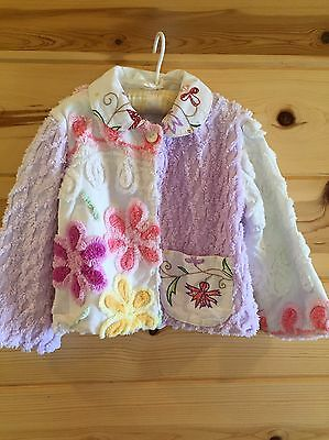Chenille Vintage Jacket Embroidery 2 T