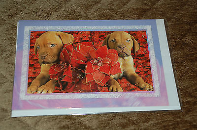 New Dogue De Bordeaux DDB French Mastiff Christmas & New Years Greeting Card
