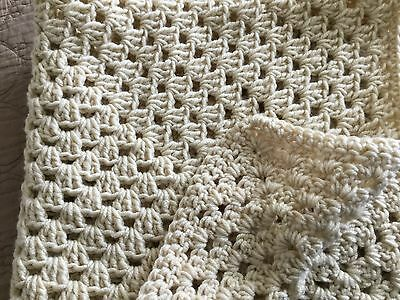 Christmas In July - New Handmade Baby Blanket/afghan - Taupe