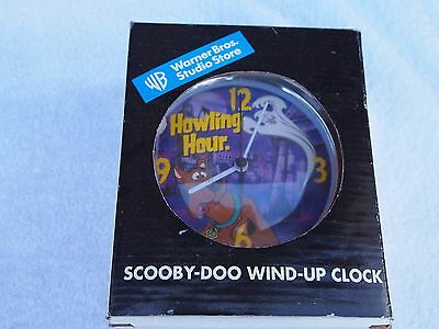 Scooby Doo Full Size Windup Clock Howling Hour