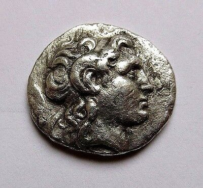 Kings of Thrace. Lysimachos. 305-281 BC. AR Tetradrachm.