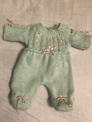 VINTAGE CABBAGE PATCH KIDS Premie Doll OK 1982 Romper OUTFIT COLECO CLOTHING CPK