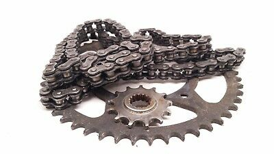 2002 KTM 520 EXC Chain and Sprockets cq1