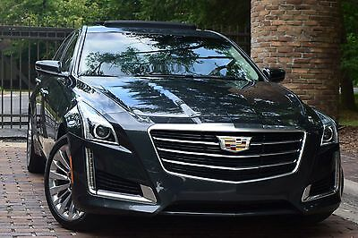 2015 Cadillac CTS LUXURY-EDITION/PANORAMIC/NAVIGATION/CAMERA 2015 Cadillac CTS Luxury Sedan 4-Door 2.0L Turbo // w all options // No Reserve
