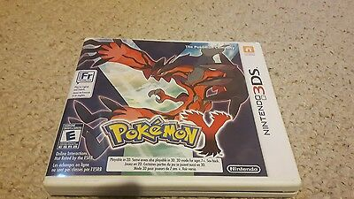 Pokemon Y (Nintendo 3DS, 2013) complete with manual